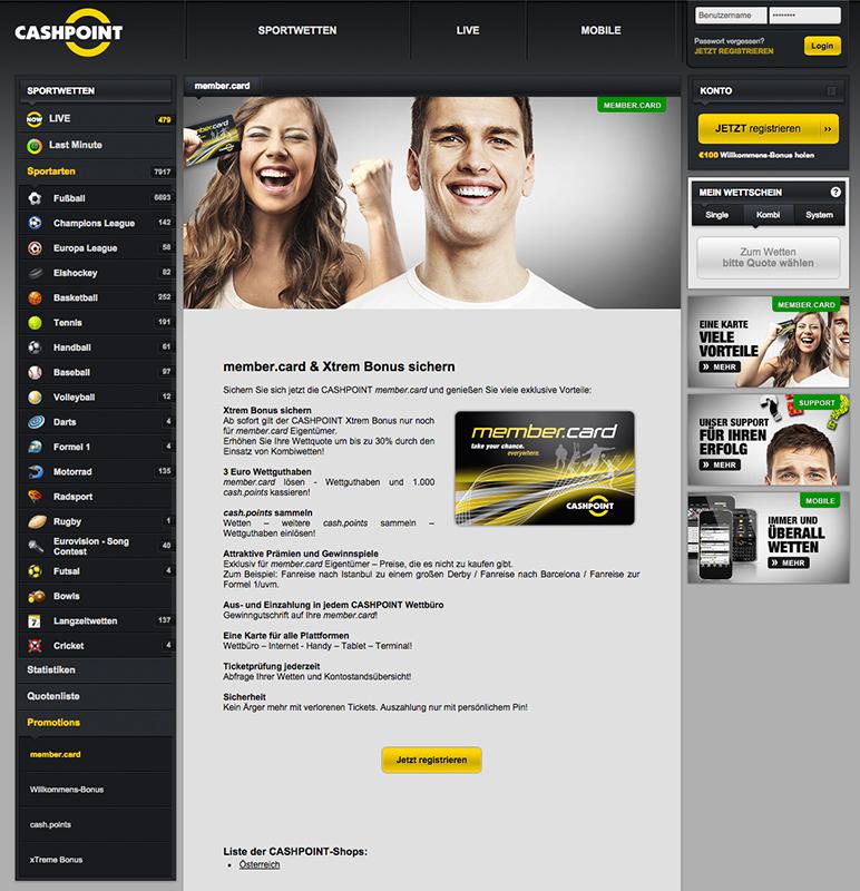 Cashpoint Kundenservice